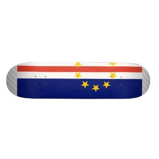 Cape Verde Flag 20.6 Cm Skateboard Deck