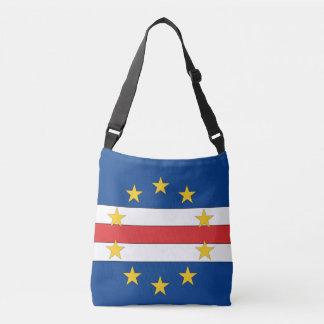 Cape Verde Flag Crossbody Bag