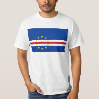 Cape Verde Flag CV T-Shirt