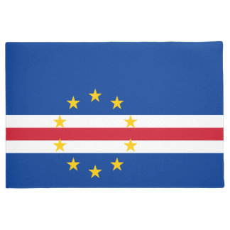 Cape Verde Flag Doormat