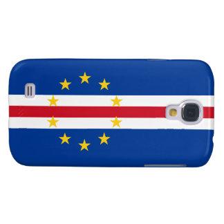 Cape Verde Flag Galaxy S4 Case