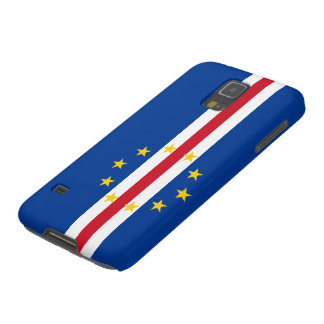 Cape Verde Flag Galaxy S5 Covers
