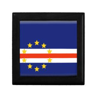 Cape Verde Flag Gift Box