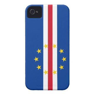 Cape Verde Flag iPhone 4 Case-Mate Cases