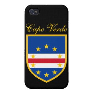 Cape Verde Flag iPhone 4 Cases