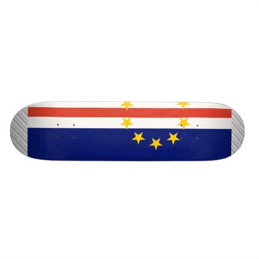 Cape Verde Flag Skate Board Decks