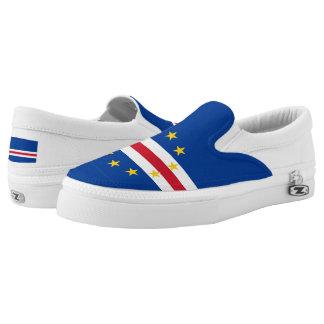 Cape Verde Flag Slip-On Shoes
