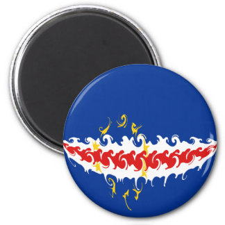 Cape Verde Gnarly Flag Magnets