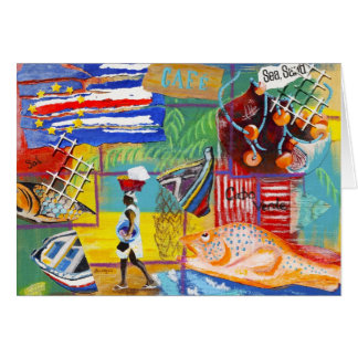 Cape Verde notecard