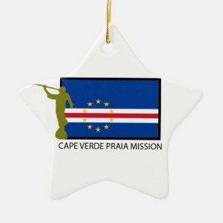 CAPE VERDE PRAIA MISSION LDS CTR CHRISTMAS ORNAMENT