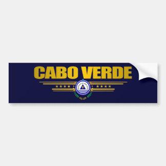 Cape Verde Pride Bumper Sticker