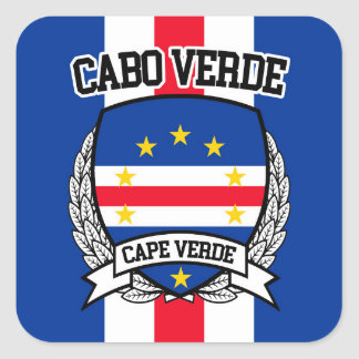 Cape Verde Square Sticker