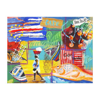 Cape Verde Wall Canvas Stretched Canvas Prints