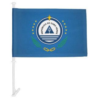 Cape Verdean coat of arms Car Flag