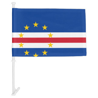 Cape Verdean flag Car Flag