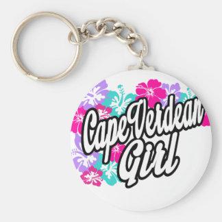 Cape verdean girl key chain
