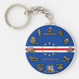Cape Verdean Key chain