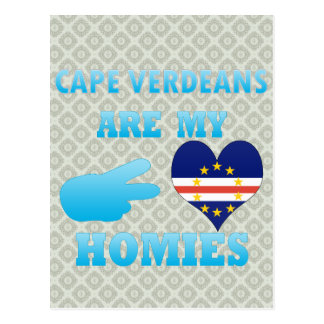 Cape Verdeans are my Homies Postcard