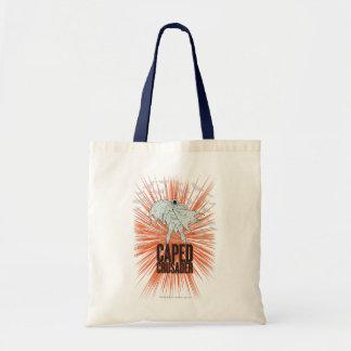 Caped Crusader Graphic Tote Bag