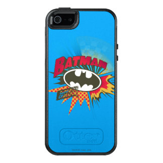 Caped Crusader OtterBox iPhone 5/5s/SE Case
