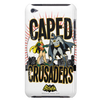 Caped Crusaders Graphic Barely There iPod Covers