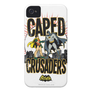 Caped Crusaders Graphic Case-Mate iPhone 4 Cases