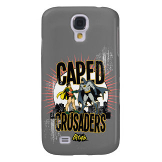 Caped Crusaders Graphic Galaxy S4 Case