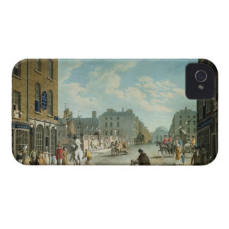 Capel Street with the Royal Exchange, Dublin, 1800 iPhone 4 Case