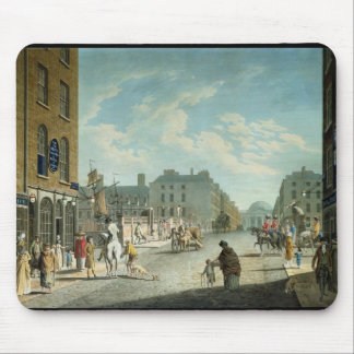 Capel Street with the Royal Exchange, Dublin, 1800 Mouse Pad