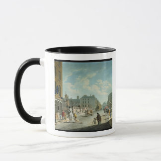 Capel Street with the Royal Exchange, Dublin, 1800 Mug