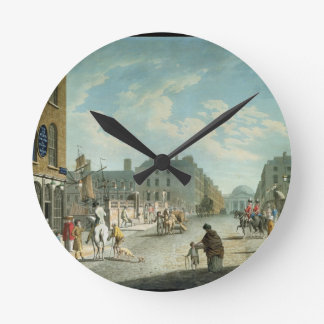 Capel Street with the Royal Exchange, Dublin, 1800 Wall Clock