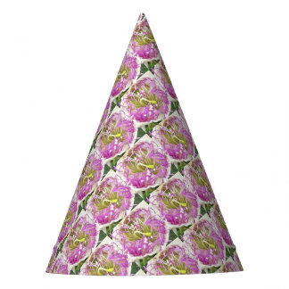 Caper Flower Blossom Party Hat