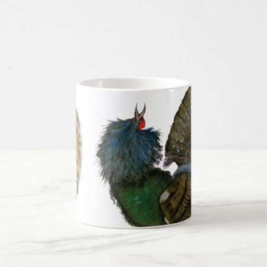 capercaillie bird with egg, tony fernandes coffee mug