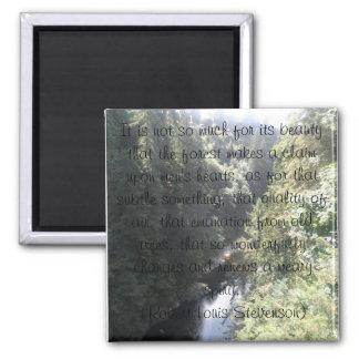 Capilano - Robert Louis Stevenson Square Magnet
