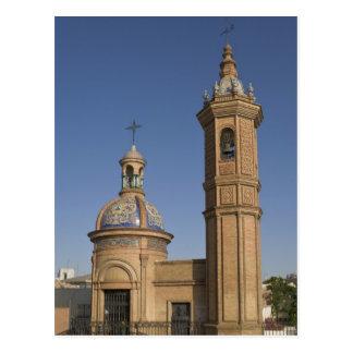 Capilla del Carmen Seville Spain Postcard