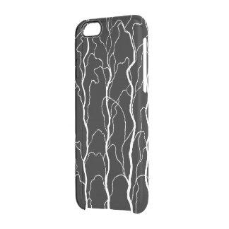 capillary II - transparent Clear iPhone 6/6S Case