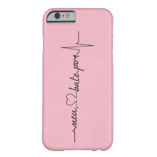 Capinhas My heart beats for… Barely There iPhone 6 Case