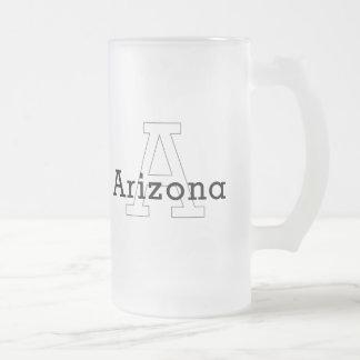 Capital A - Arizona Frosted Glass Mug
