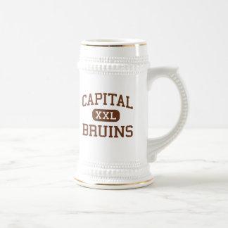 Capital - Bruins - High School - Helena Montana Coffee Mug