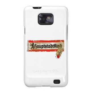 Capital child irreverently Berlin Germany Samsung Galaxy S2 Cover