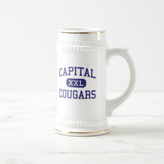 Capital - Cougars - High - Charleston Beer Steins