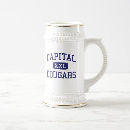 Capital - Cougars - High - Charleston Coffee Mugs