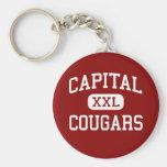 Capital - Cougars - High - Olympia Washington Key Chain