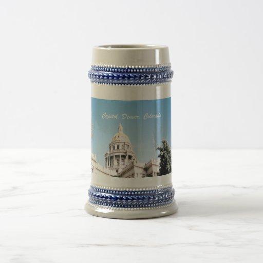 Capital, Denver, Colorado Coffee Mugs