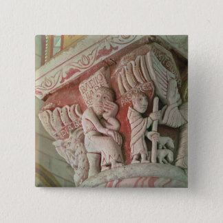 Capital from the chancel from 'Babilonia 15 Cm Square Badge