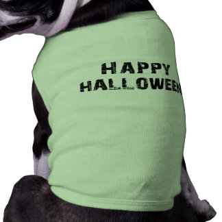 Capital Grunge Happy Halloween Pet Tee Shirt