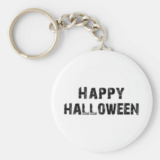 Capital Grunge Happy Halloween Keychain