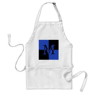 Capital M Royal Blue Standard Apron