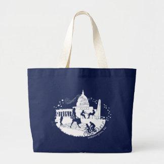 Capital Seasons Illustration Canvas Bag