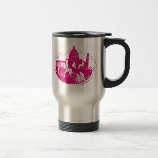 Capital Seasons Illustration Travel Mug